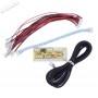 1 player zero delay USB encoder - 2.8mm connectors - bundle