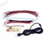 Encodeur USB LED Zéro délai - 1 joueur - connecteurs 2.8mm - bundle