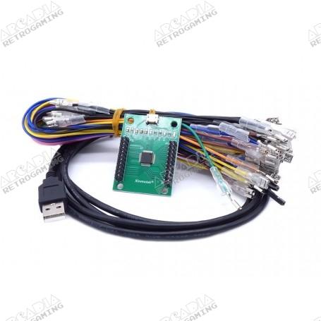 Encodeur USB Xinmotek Zéro délai - 2 joueurs