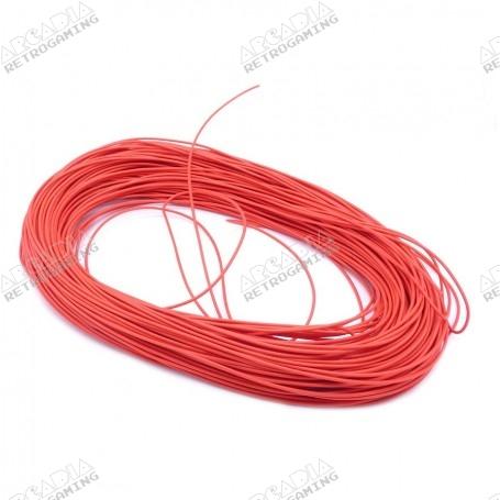 Câble électronique AWG 22 - Rouge