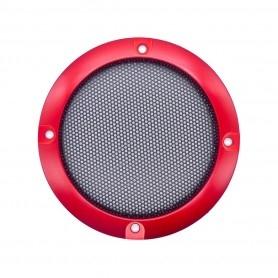 Speaker grille 95mm - Red