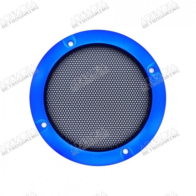 Grille Haut-Parleur 95mm - Bleu