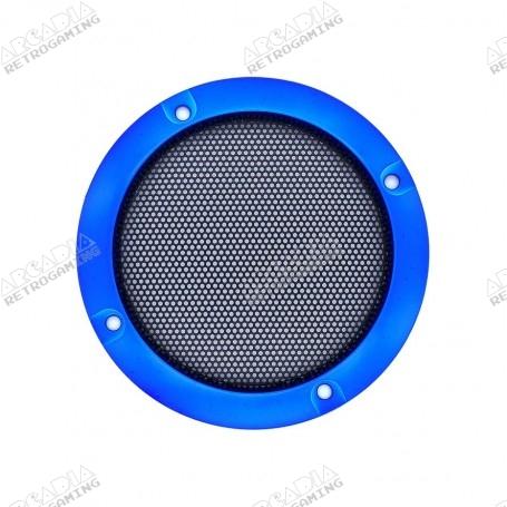 Speaker grille 95mm - Blue