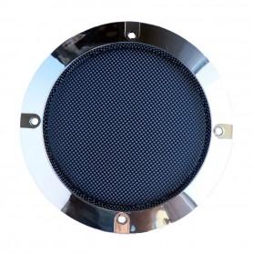 Grille Haut-Parleur 120mm - Chrome