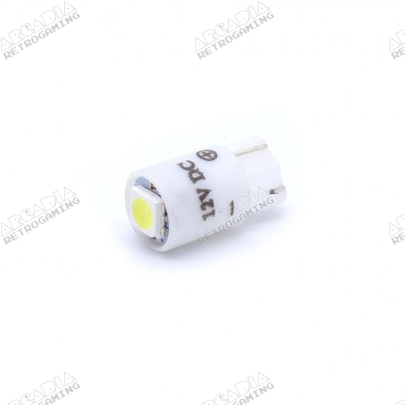 LED wedge SMD 12v - Blanc