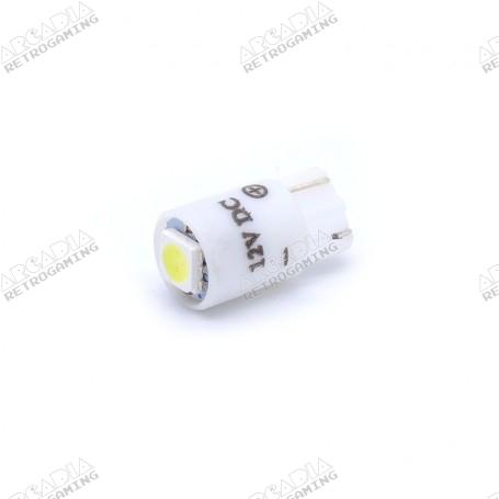 LED wedge SMD 12v - White