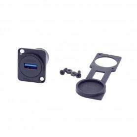 Waterproof USB 3 front socket