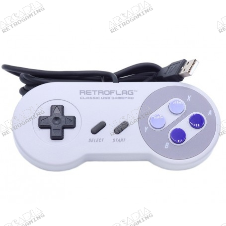 Manette Retroflag SNES USA USB