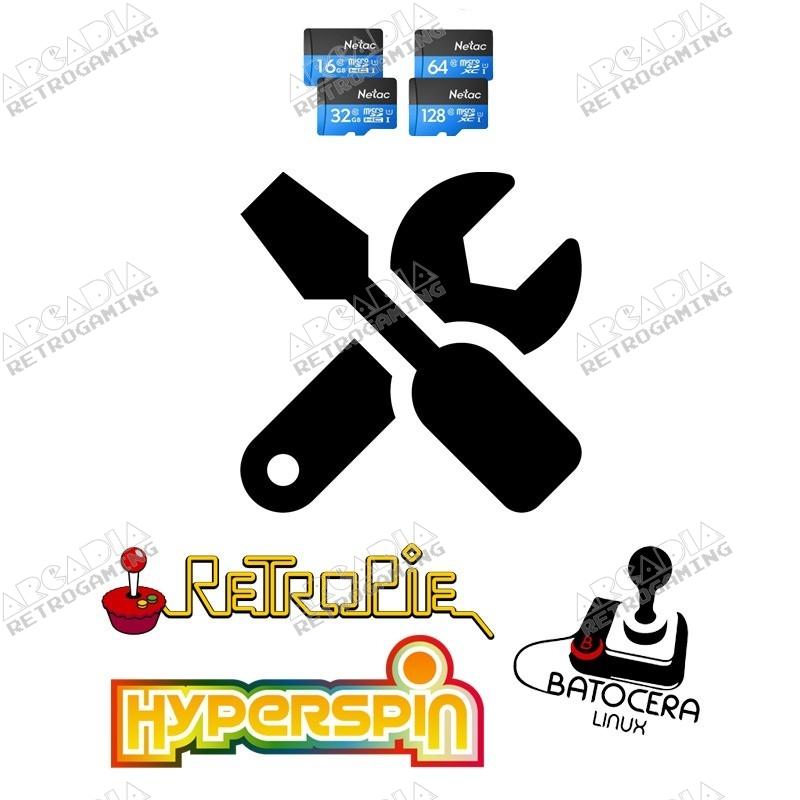 SD card system installation