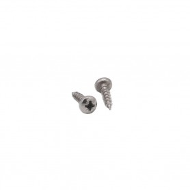 Stainless steel pozidrive screw 3x12mm