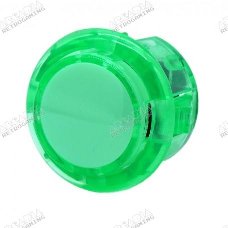 Bouton poussoir AIO silencieux transparent - Vert