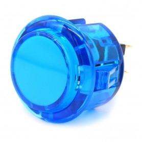 Transparent silent AIO push button - Blue