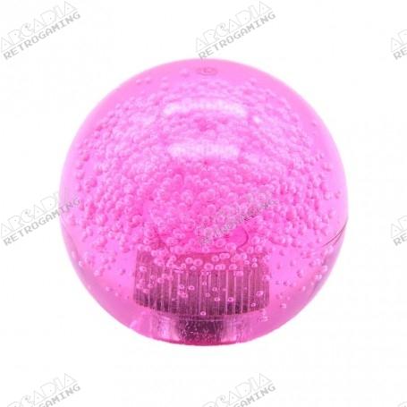 Seimitsu LB-39 Transparent Bubble Balltop Handle - Pink