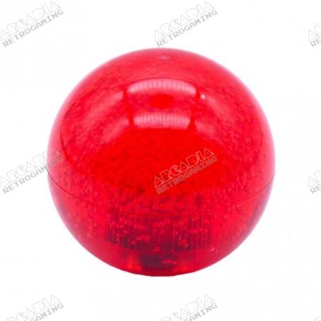 Seimitsu LB-39 Transparent Bubble Balltop Handle - Red