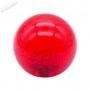 Poignée Transparente Bubble Seimitsu LB-39 - Rouge