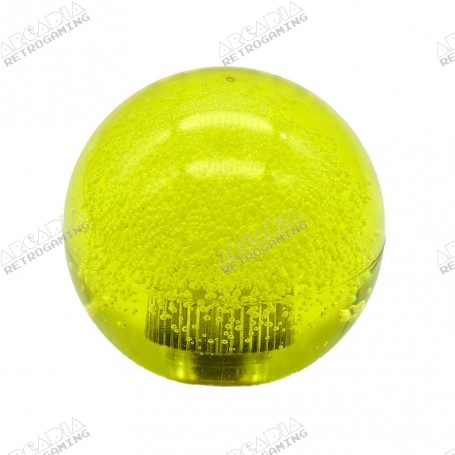 Poignée Transparente Bubble Seimitsu LB-39 - Jaune
