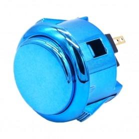 Bouton poussoir AIO silencieux - Métallique Bleu