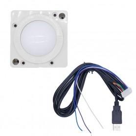 2 inch USB Trackball - White