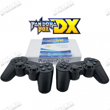 Console de salon Pandora Box DX avec manettes sans fil