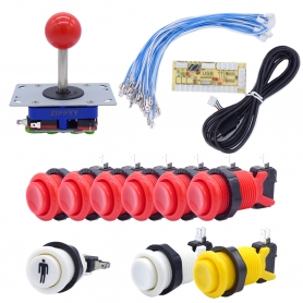 Joystick and Buttons Kit - 1 player