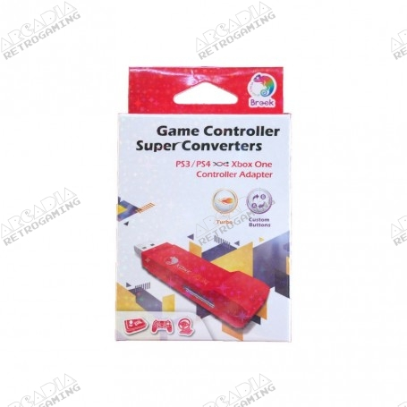 Brook Super Converter PS3 et PS4 vers XBOX One package