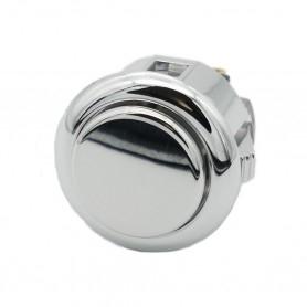 Sanwa OBSJ-24-AG button - Silver