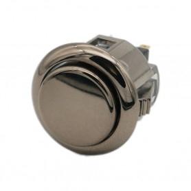 Sanwa OBSJ-24 button - Gun Metal
