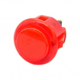 Bouton Sanwa OBSC-24 - Rouge