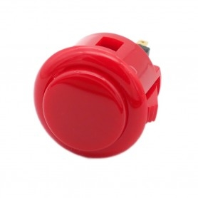 Sanwa OBSF-24 button - Red