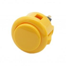 Sanwa OBSF-24 button - Yellow