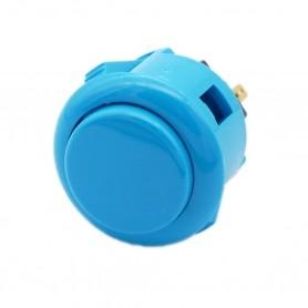 Bouton Sanwa OBSF-24 - Bleu