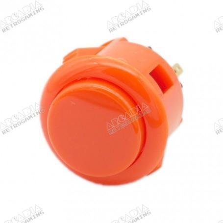 Bouton Sanwa OBSF-24 - Orange