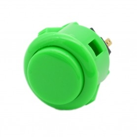 Sanwa OBSF-24 Button - Green