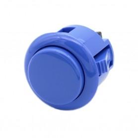 Sanwa OBSF-24 button - Dark Blue