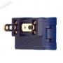 Bouton Sanwa OBSF-24 - Bi-color Noir et Gris - switch