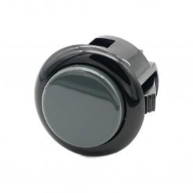 Bouton Sanwa OBSF-24 - Bi-color Noir et Gris