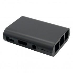 Plastic case for Raspberry Pi - Black