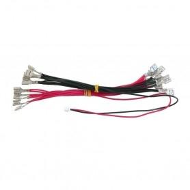 LED power harness 5V 12V 6.3mm