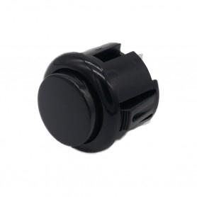 Bouton poussoir AIO 24mm - Noir
