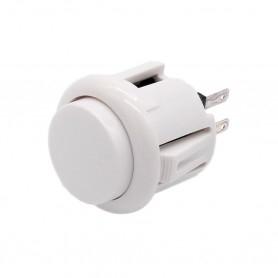 24mm AIO push button - White