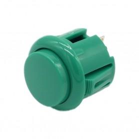 Bouton poussoir AIO 24mm - Vert