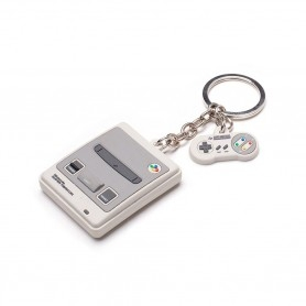 Nintendo Keychain - Super Nintendo Console
