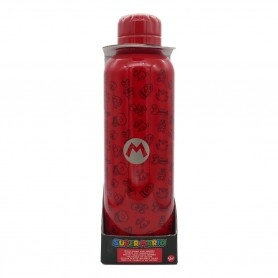 Super Mario Insulated Bottle - Red