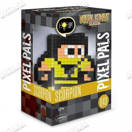 Pixel Pal - Mortal Kombat - Scorpion - boîte