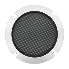 Speaker grille 120mm - Metallic gray