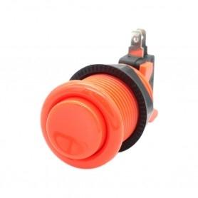 Arcade push button - Orange