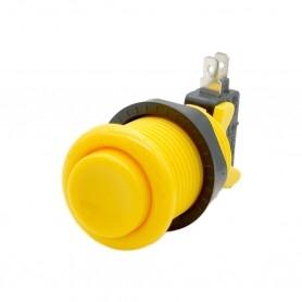Arcade push button - Yellow