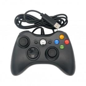 Xbox 360 wired controller - PC - Raspberry - Pandora box - Black