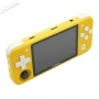 Console Portable Powkiddy RGB10 - Jaune - côté