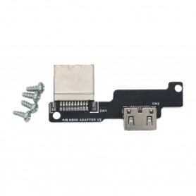 Raspberry Pi 3 HDMI to Mini-HDMI adapter for PiBoy DMG box
